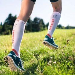 Kompressionsstrømper til løb, cykling og andre sportsgrene