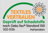 OEKO-TEX standard 100 tiltro til tekstiler