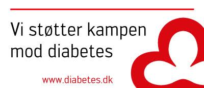 Vi støtter kampen mod Diabetes
